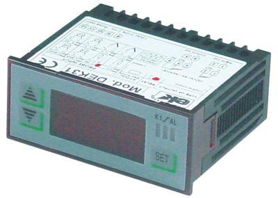 ηλεκτρονικός ελεγκτής EKTRON  τύπος DEK31-1000A  μετρήσεις στερέωσης 71x29 mm 12V τάση AC/DC