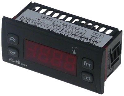 θερμόμετρο ELIWELL  τύπος EM300  μετρήσεις στερέωσης 71x29 mm 230V τάση AC