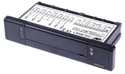 ηλεκτρονικός ελεγκτής EKTRON  μετρήσεις στερέωσης 102,5x35 mm 230V τάση AC  NTC