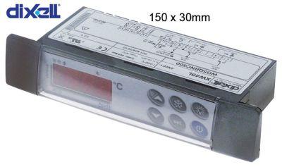 ηλεκτρονικός ελεγκτής DIXELL  XW40L-5N0C1 μετρήσεις στερέωσης 150x30 mm