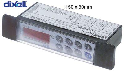 ηλεκτρονικός ελεγκτής DIXELL  XW271L-5N0C0 μετρήσεις στερέωσης 150x30 mm