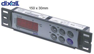 πληκτρολόγιο DIXELL  T620-000C0  μετρήσεις στερέωσης 150x31 mm
