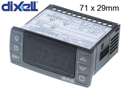 ηλεκτρονικός ελεγκτής DIXELL  XR30CX-5N0C0 μετρήσεις στερέωσης 71x29 mm 230V τάση AC