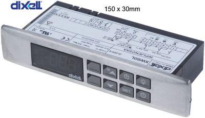 ηλεκτρονικός ελεγκτής DIXELL  XW60L-5L0D0-X μετρήσεις στερέωσης 150x30 mm