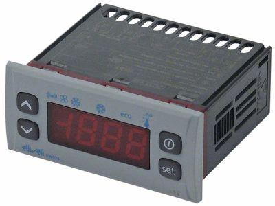 ηλεκτρονικός ελεγκτής ELIWELL  τύπος EW974  μοντέλο EW2EDI0XCH701 μετρήσεις στερέωσης 71x29 mm