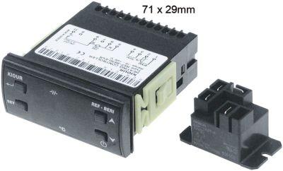 ηλεκτρονικός ελεγκτής 230V μετρήσεις στερέωσης 71x29 mm PTC