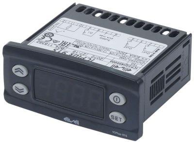 ηλεκτρονικός ελεγκτής ELIWELL  τύπος ICPlus915  μοντέλο μετρήσεις στερέωσης 71x29 mm 45627V