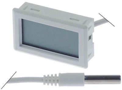θερμόμετρο μετρήσεις στερέωσης 47x27 mm διαμ. μπαταρίας πίσω -40 έως +70°C