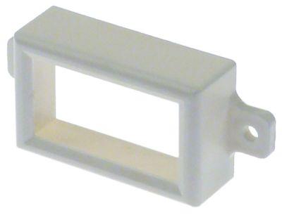 διακοσμητικό για θερμόμετρο εσωτερικές διαστάσεις 47x27 mm W 53mm H 33mm