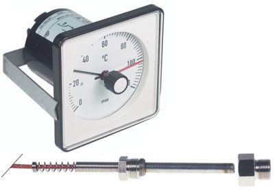 θερμοστάτης Μέγ. Θ 120°C εύρος θερμοκρασίας 0-120 °C 1-πόλοι 1CO