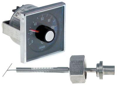 θερμοστάτης Μέγ. Θ 120°C εύρος θερμοκρασίας 0-120 °C 1-πόλοι 1CO  10A