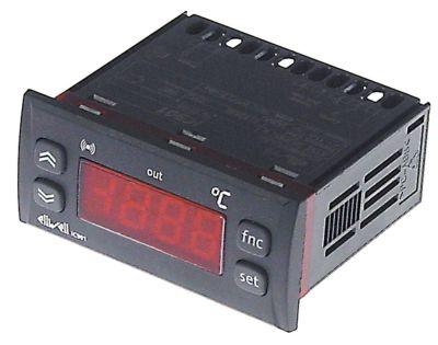 ηλεκτρονικός ελεγκτής ELIWELL  μετρήσεις στερέωσης 71x29 mm 230V τάση AC