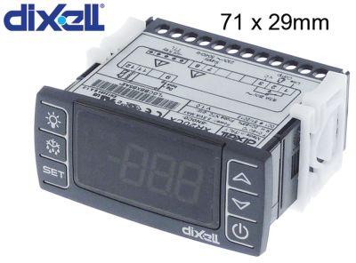 ηλεκτρονικός ελεγκτής DIXELL  XR20CX-5N0C0 μετρήσεις στερέωσης 71x29 mm 230V τάση AC
