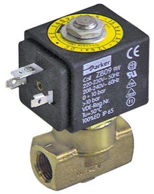 ηλεκτρομαγνητική βαλβίδα 2-οδοί 230VAC  σύνδεσμος 1/4