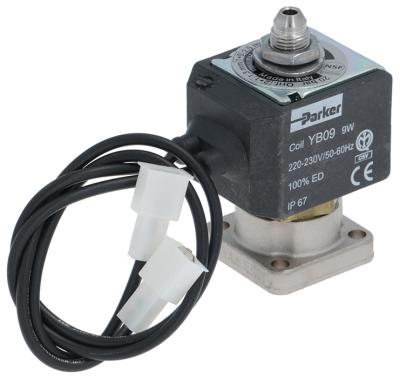 ηλεκτρομαγνητική βαλβίδα ορείχαλκος DN 1,2mm 3-οδοί 230VAC  PARKER