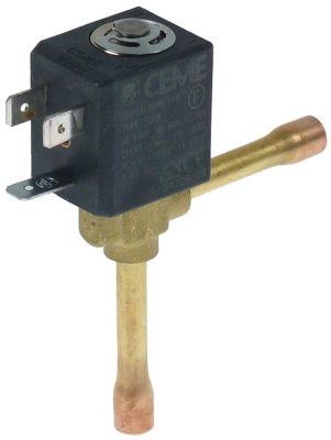 ηλεκτρομαγνητική βαλβίδα με γωνία τύπος 5925 p max 25bar DN1,5
