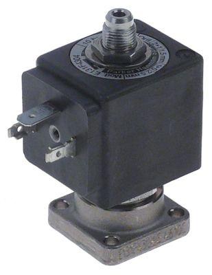 ηλεκτρομαγνητική βαλβίδα 3-οδοί 24VAC  DN 1,5/2,5 mm υποδοχή ολίσθησης DIN  -10 έως 140°C