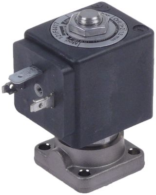 ηλεκτρομαγνητική βαλβίδα 2-οδοί 24V  DN 1.5mm υποδοχή ολίσθησης DIN  -10 έως 140°C PARKER