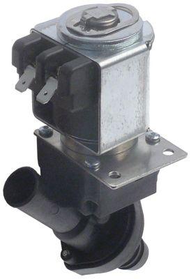 ηλεκτροβάνα αποχέτευσης 230V είσοδος 17mm έξοδος 17mm μονό 50Hz 11.5