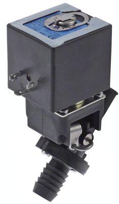 ηλεκτροβάνα αποχέτευσης 230V είσοδος 17mm έξοδος 19mm μονό ευθύ 50/60 Hz πλαστικό 10