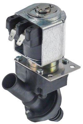 ηλεκτροβάνα αποχέτευσης 240V είσοδος 17mm έξοδος 19mm μονό ευθύ 50Hz πλαστικό 10