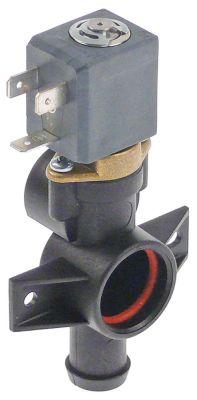 ηλεκτροβάνα αποχέτευσης 1/1-οδοί 24V είσοδος 12.5mm έξοδος 15.5mm Μ 110mm σώμα πλαστικό