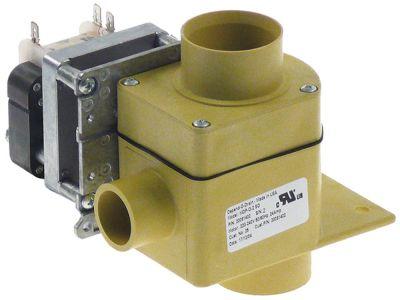 ηλεκτροβάνα αποχέτευσης MDP-O-2 220/240 V είσοδος 50mm έξοδος 50mm 50/60 Hz για πλυντήριο
