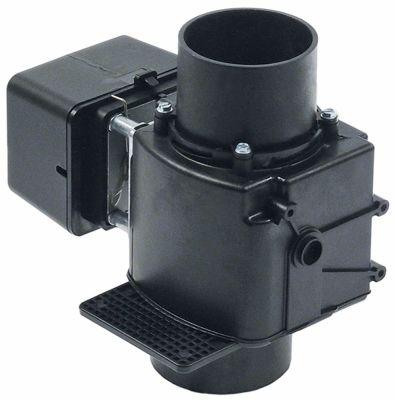 βαλβίδα αποχέτευσης 230V είσοδος 75mm έξοδος 80mm NO
