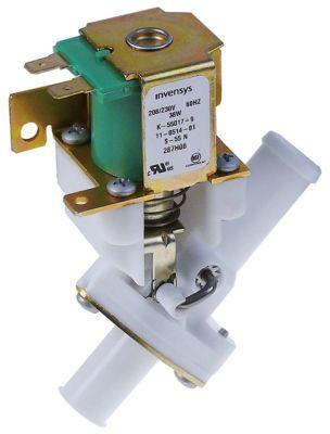 ηλεκτροβάνα αποχέτευσης 208/230 V είσοδος 17.5mm έξοδος 16mm μονό EATON (INVENSYS)  πλαστικό