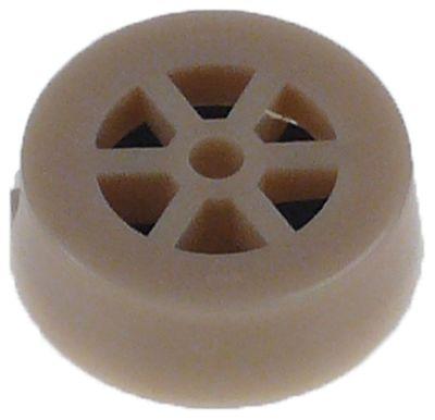 μειωτήρας TP  παροχή 16l/min ανοικτό καφέ ανοχή ±15 %