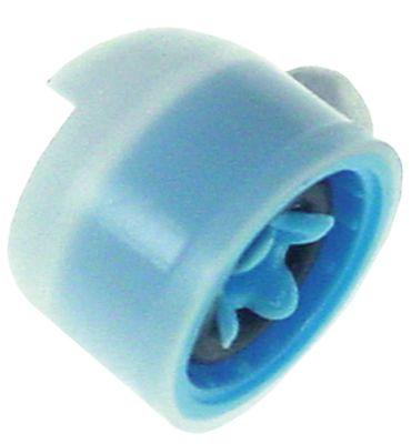 μειωτήρας MÜLLER  τύπος MR07  παροχή 1,4l/min μετρήσεις στερέωσης 10mm ονομαστική ροή στα 4bar