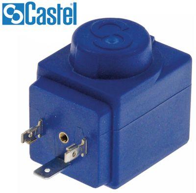 πηνίο CASTEL  110VAC  8VA 50/60 Hz ø έδρας 11.5mm σύνδεσμος DIN 43650A  τύπος HF2