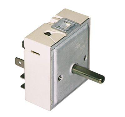 ζημενστάτης EGO  400V 7A μονού κυκλώματος κατεύθυνση περιστροφής αριστερά ø άξονα 6x4,6 mm