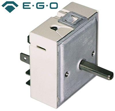 ζημενστάτης EGO  400V 7A διπλό κύκλωμα κατεύθυνση περιστροφής δεξιά ø άξονα 6x4,6 mm