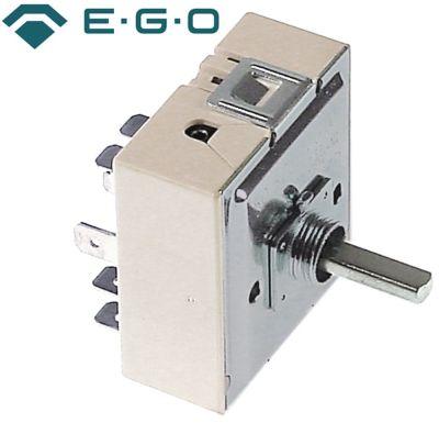 ζημενστάτης EGO  240V 13A μονού κυκλώματος κατεύθυνση περιστροφής αριστερά ø άξονα 6x4,6 mm
