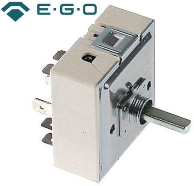 ζημενστάτης EGO  230V 13A μονού κυκλώματος κατεύθυνση περιστροφής δεξιά ø άξονα 6x4,6 mm