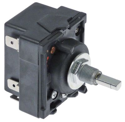 ζημενστάτης 240V 13,5A κατεύθυνση περιστροφής δεξιά ø άξονα 6x4,6 mm