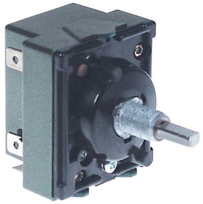 ζημενστάτης 24V 13,5A κατεύθυνση περιστροφής δεξιά ø άξονα 6x4,6 mm σπείρωμα στερέωσης 3/8″-24UNF