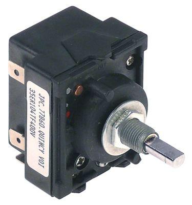 ζημενστάτης 400V 13,5A κατεύθυνση περιστροφής δεξιά ø άξονα 6x4,6 mm