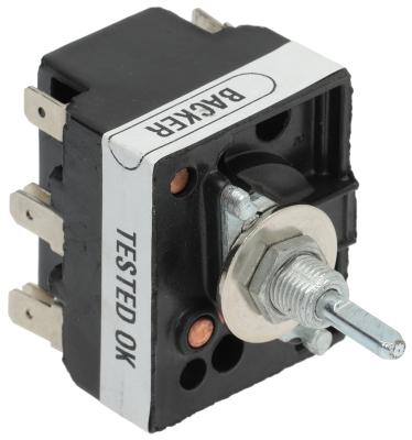 ζημενστάτης 200-250 V 13A μονού κυκλώματος κατεύθυνση περιστροφής δεξιά ø άξονα 4,8x4,1 mm