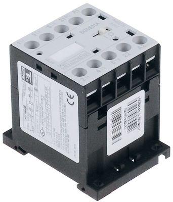ρελέ ισχύος ωμικό φορτίο 16A 230VAC  (AC3/400V) 5A/2,2 kW κύριες επαφές 3NO