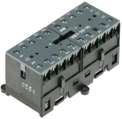 ρελέ ισχύος ωμικό φορτίο 20A 230VAC  (AC3/400V) 12A/5,5 kW κύριες επαφές 2x3NO