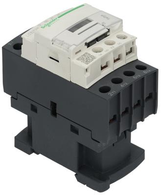 ρελέ ισχύος ωμικό φορτίο 25A 230VAC  (AC3/400V) 12A/5,5 kW κύριες επαφές 4NO