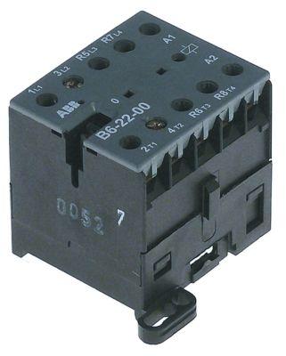 ρελέ ισχύος ωμικό φορτίο 20A 24VAC  (AC3/400V) 12A/5,5 kW κύριες επαφές 3NO