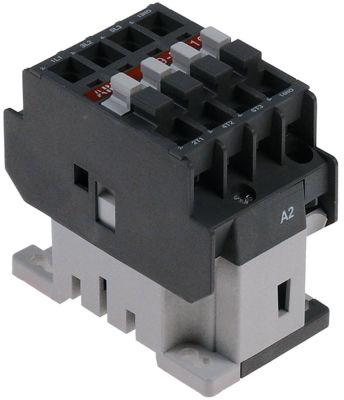 ρελέ ισχύος ωμικό φορτίο 25A 400VAC  (AC3/400V) 9A/4 kW κύριες επαφές 3NO