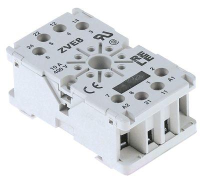υποδοχή ρελέ 8-πόλοι σύνδεσμος σύνδεση plug-in, στρογγυλό βύσμα 8 πόλων