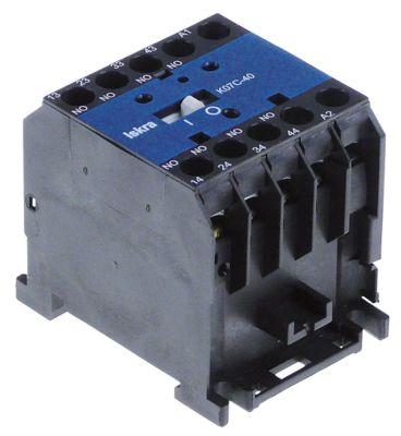 ρελέ επαφής AC1 20A 230VAC  AC15 4A επαφές 4NO  σύνδεσμος βιδωτή σύνδεση τύπος Fanal DSL3 40