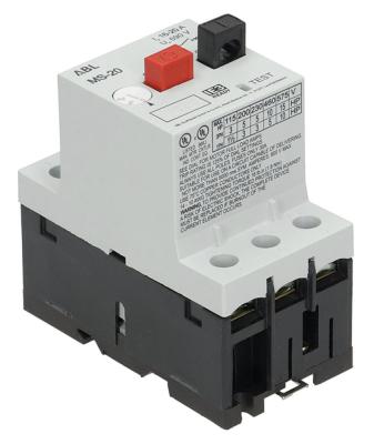 διακόπτης προστασίας μοτέρ τύπος MS25-20  εύρος ρύθμισης 16-20 A (AC3/400V) 11kW