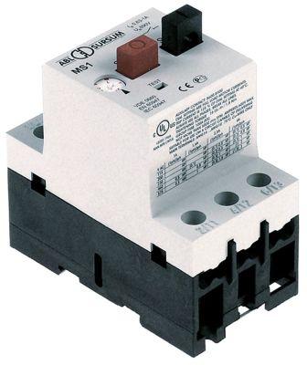 διακόπτης προστασίας μοτέρ τύπος MS1  εύρος ρύθμισης 0,63-1 A (AC3/400V) 0.3kW