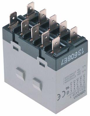 ρελέ ισχύος OMRON  200-240VAC  25A 3NO/1NC  σύνδεσμος F6,3